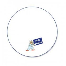 Mousepad rund (22 x 22cm)