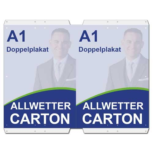 Allwetter-Carton DIN A1