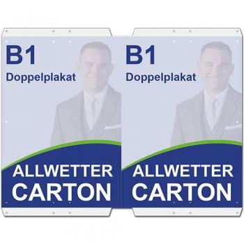 Allwetter-Carton DIN B1