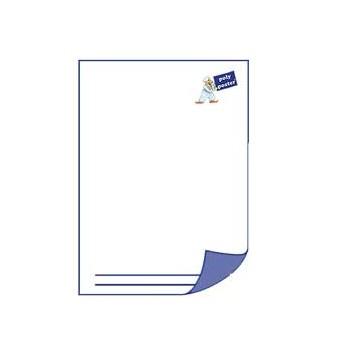 Briefpapier DIN A4, 4/0 farbig