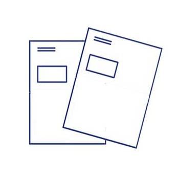 Briefumschlag DIN C4 mit Fenster, haftklebend, 4/0 farbig