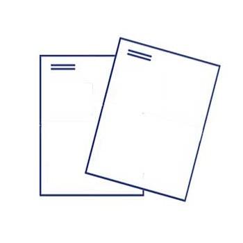 Briefumschlag DIN C4 ohne Fenster, haftklebend, 4/0 farbig