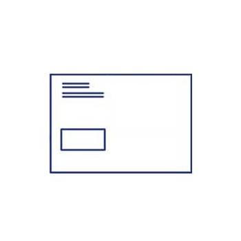 Enveloppe Din C5 Avec Fenêtre Sensible à La Pression Couleur 40